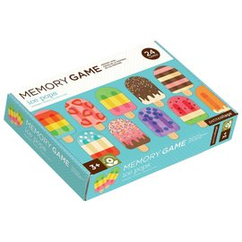 Petit Collage Memory Game - Ice Pops
