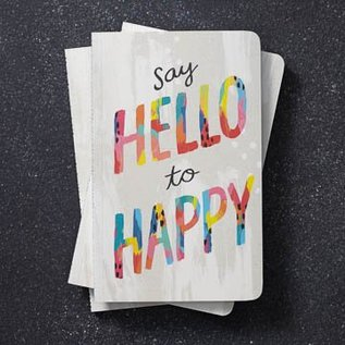 Compendium Write Now Journal - Hello To Happy