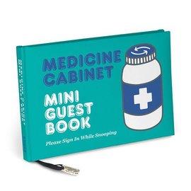 Knock Knock SALE Medicine Cabinet Mini Guest Book