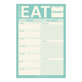 Knock Knock What To Eat Magnet Pad