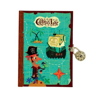 Chronicle Books SALE Lock Diary - Captains Log