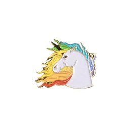 The Found Majestic Unicorn Enamel Pin
