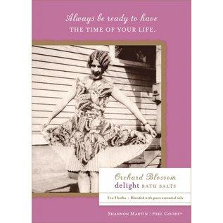 Shannon Martin SALE Bath Salts Orchard Blossom Delight