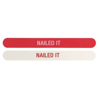 About Face Nailed It Nail File