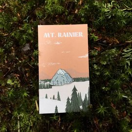 Good & Well Supply Co. Mount Rainier Enamel Pin