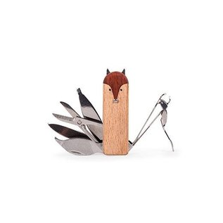 Kikkerland Design Inc Fox Manicure Set