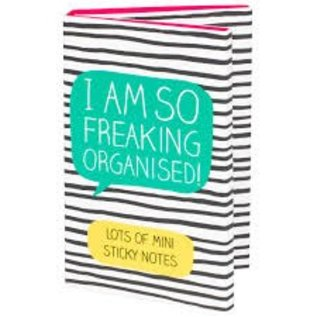 Wild & Wolf Inc. Freaking Organised! Sticky Notes