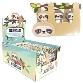 Streamline Sloth Sticky Memo Tabs
