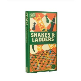 Professor Puzzle Snakes & Ladders Wooden Game