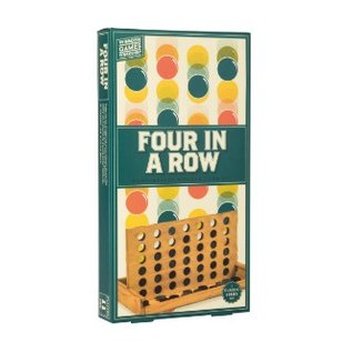 Professor Puzzle Four In A Row Wooden Game