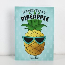 MiniLou Name That Pineapple Coloring Book