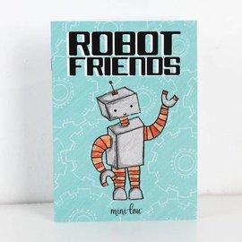 MiniLou Robot Friends Coloring Book
