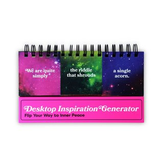 Knock Knock Desktop Inspiration Generator