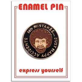 The Found Bob Ross Enamel Pin