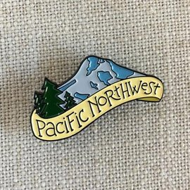 acbc Design Pacific Northwest Enamel Pin