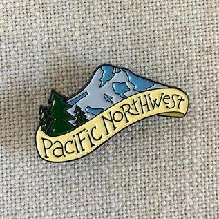 acbc Design Pacific Northwest Enamel Pin