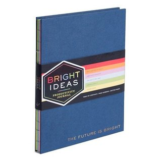 Chronicle Books Bright Ideas Productivity Journal