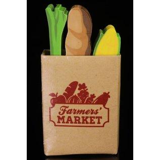 Kikkerland Design Inc Farmers Market Erasers