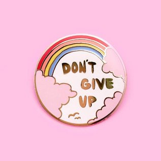 Little Arrow Don't Give Up Enamel Pin
