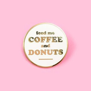 Little Arrow Coffee And Donuts Enamel Pin