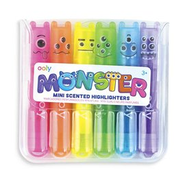 Ooly Mini Monster Scented Highlighters