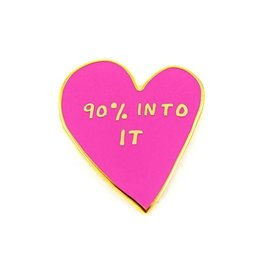 Valley Cruise 90% Into It Enamel Pin