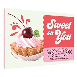 Chronicle Books Sweet on You Scratch & Sniff Notecards