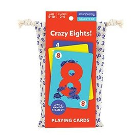Chronicle Books Crazy Eights Card Game