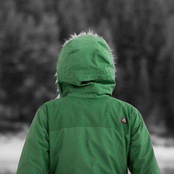 Green Arcteryx Covert Hoody Women's