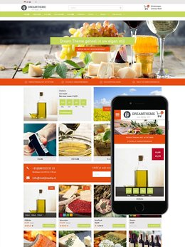 InStijl Media Dream Theme Food