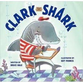 CLARK THE SHARK HARDCOVER BOOK