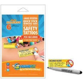 SAFETY TAT SAFETY TAT - ALLERGY