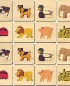ANIMAL MEMORY TILE