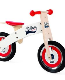 JANOD - Red and White Balance Bike
