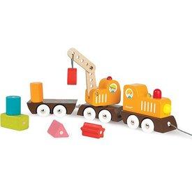 JANOD JANOD - Multi Colors Crane Train