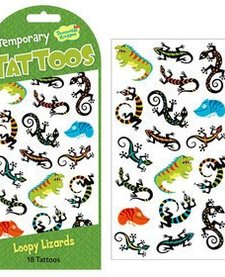 LIZARDS TEMPORARY TATTOOS