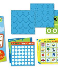 PEACEABLE KINGDOM: Reusable Sticker Totes - Take Along Games