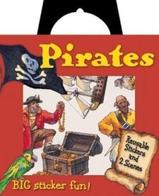 PEACEABLE KINGDOM:  Reusable Sticker Totes - Pirates