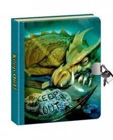 Lock and Key Diaries - Dragon Lenticular