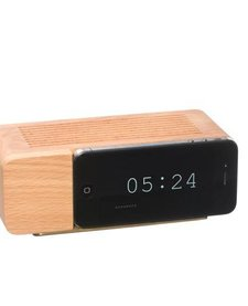 Alarm Dock i5 (natural wood)