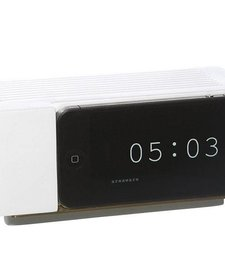 Alarm Dock i5 (white resin)