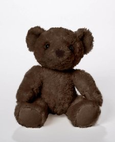 "BEARS FOR HUMANITY - ""CHEWIE"" SMALL DARK BROWN BEAR"