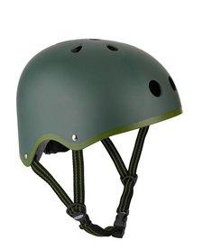 Camo Green Matte Helmet - SM