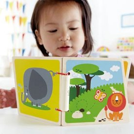 Hape HAPE: At the Zoo Wooden Book