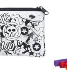 DESIGN YOUR OWN PENCIL CASE - SKATER/BLACK