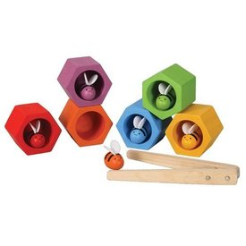 PLAN TOYS - BEEHIVES GAME