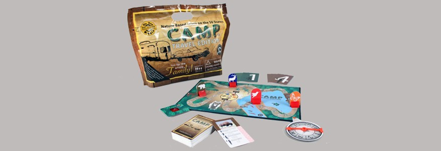 EDUCATION OUTDOORS EDUCATION OUTDOORS: CAMP TRAVEL GAME