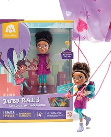 RUBY RAILS SKYDIVE ACTION FIGURE - GOLDIE BLOX