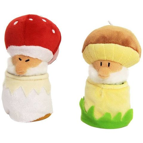 TRUDI:  MUSHROOM GNOME (RED)