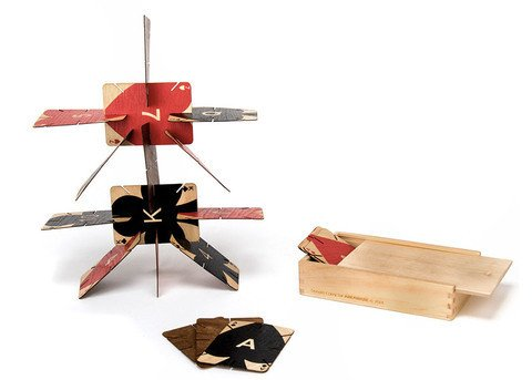 AREAWARE: Plywood Playing Cards